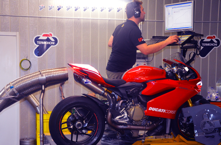 World-Ducati-Week-2018-Termignoni-banco-prova